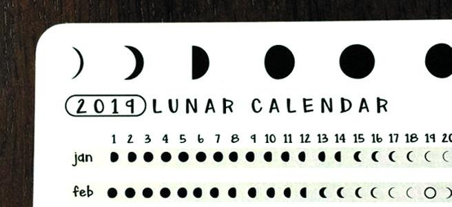 Calendario Lunar 2019 De Abril